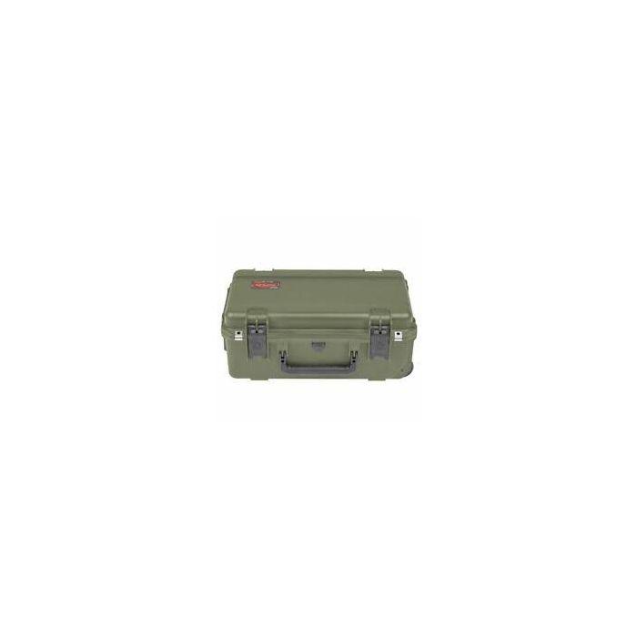SKB iSeries 2011-7 Waterproof Military Green Utility Case empty