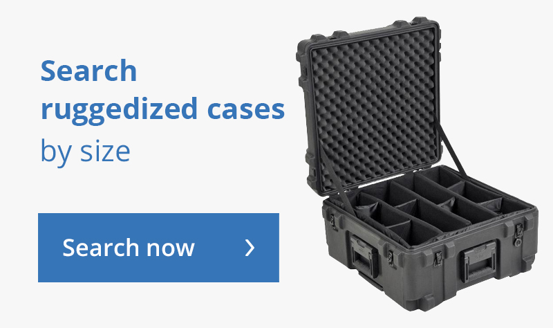 Search cases by size