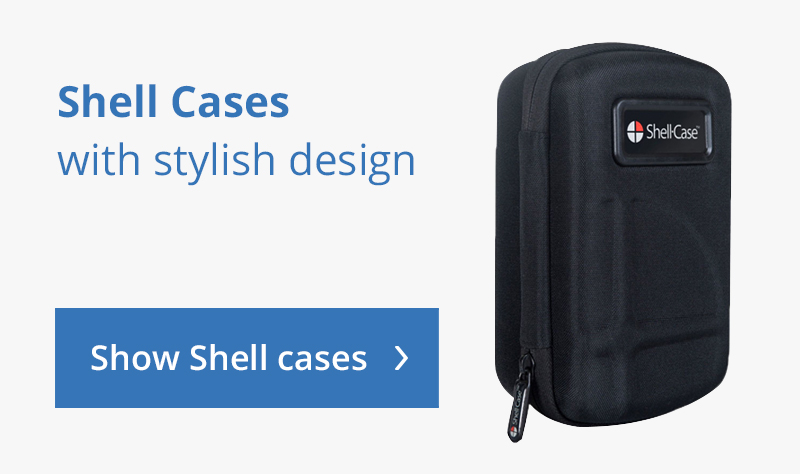 Shell cases with stylish design