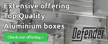 Aluminium-boxes